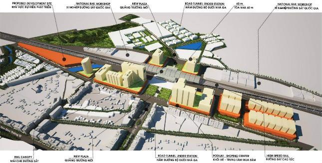 Đẩy nhanh triển khai dự án di dời ga đường sắt và tái phát triểu đô thị Đà Nẵng vốn 15.400 tỷ đồng