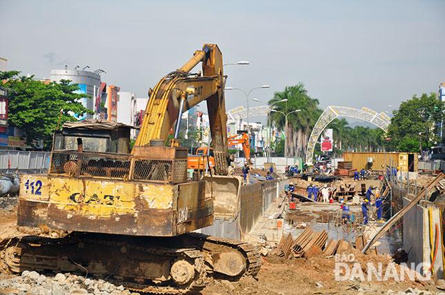 Hầm chui nút giao thông Điện Biên Phủ - Nguyễn Tri Phương: Đẩy nhanh tiến độ