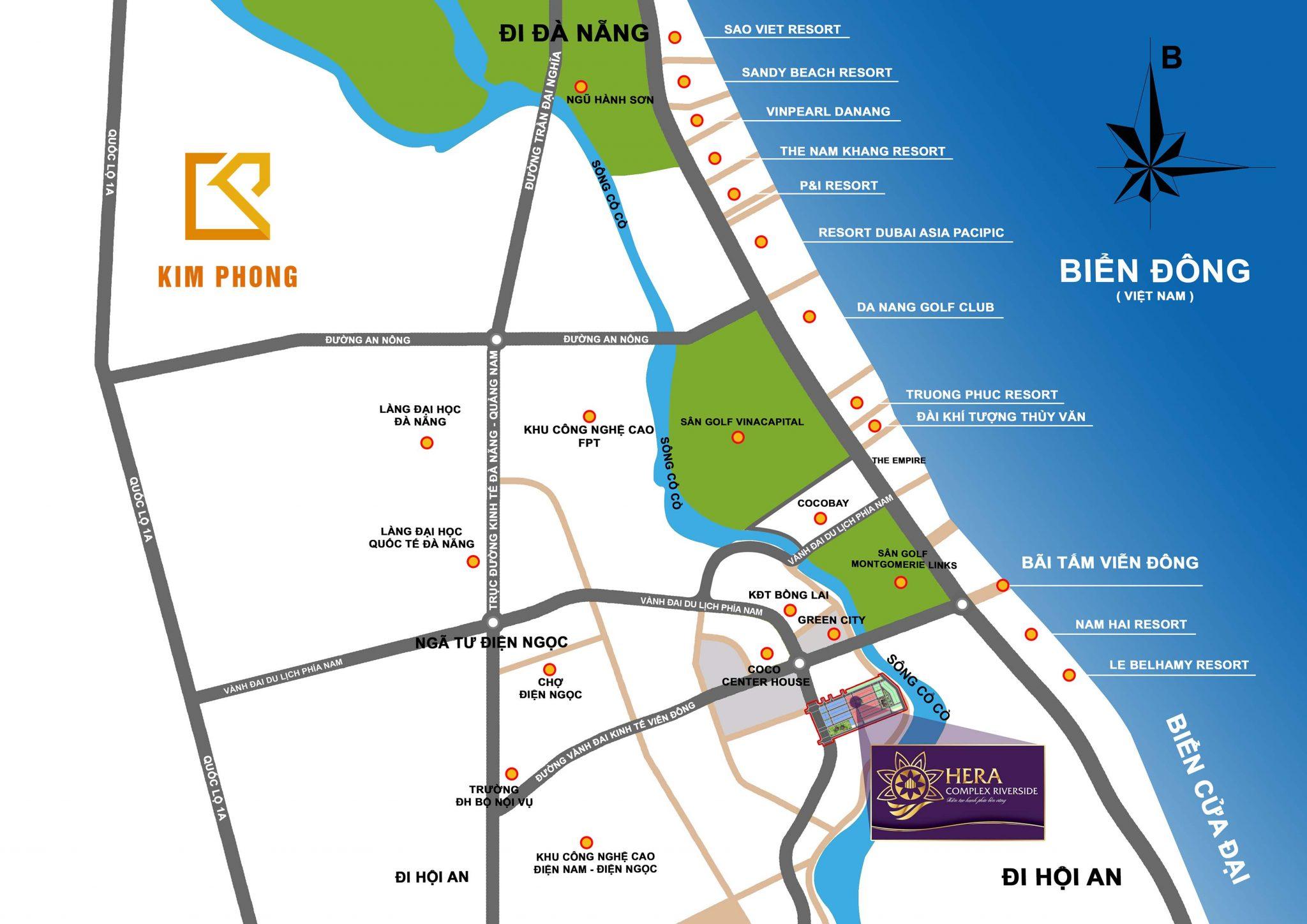 Khu đô thị Hera Complex Riverside - Ảnh 3