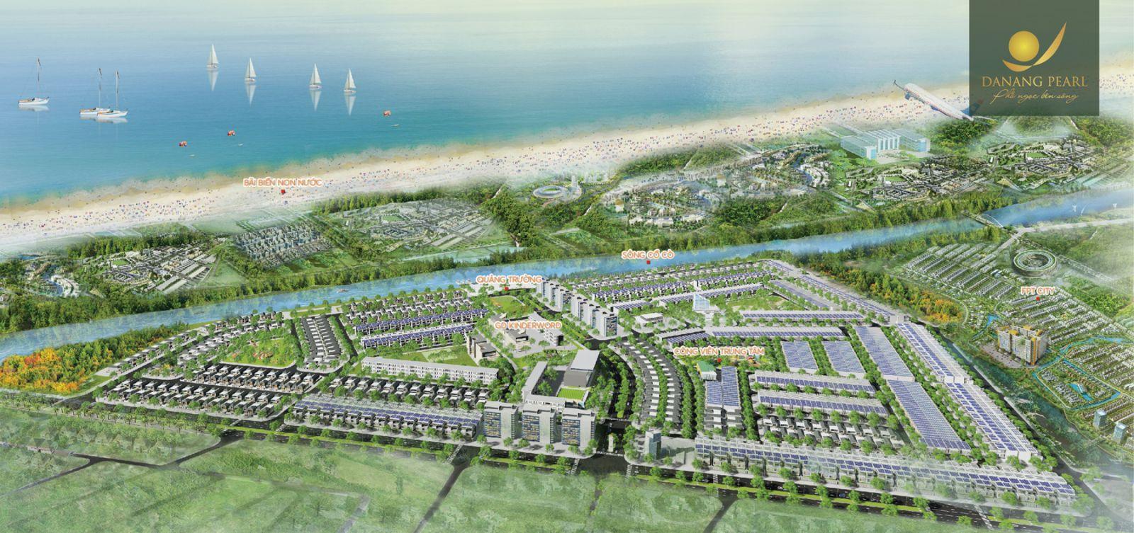 Khu đô thị Danang Pearl - Ảnh 1