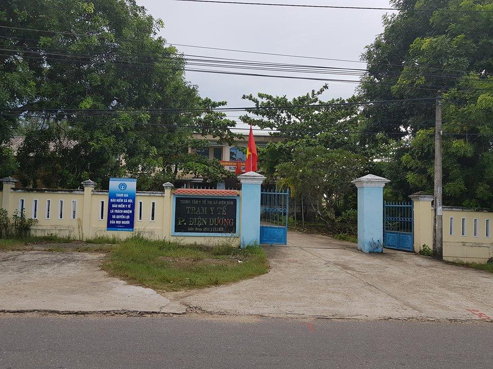 Trạm y tế phường Điện Dương - Khu đô thị Đại Dương Xanh, khu đô thị Riverview, khu đô thị Blue Ocean, khu đô thị New Điện Dương City