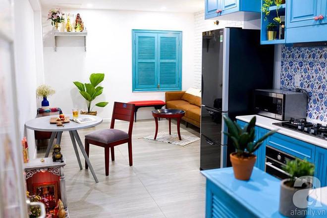 Căn hộ 59m² mang phong cách Địa Trung Hải đẹp đến từng chi tiết nhỏ ở Quận 4, Sài Gòn - Ảnh 1 - bdsmientrung.com.vn