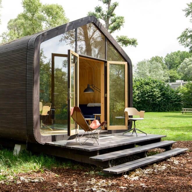 """Ngôi nhà nhỏ 50m² đẹp lãng mạn và có thể """"mang theo"""" đến bất kỳ đâu - Ảnh 4"""