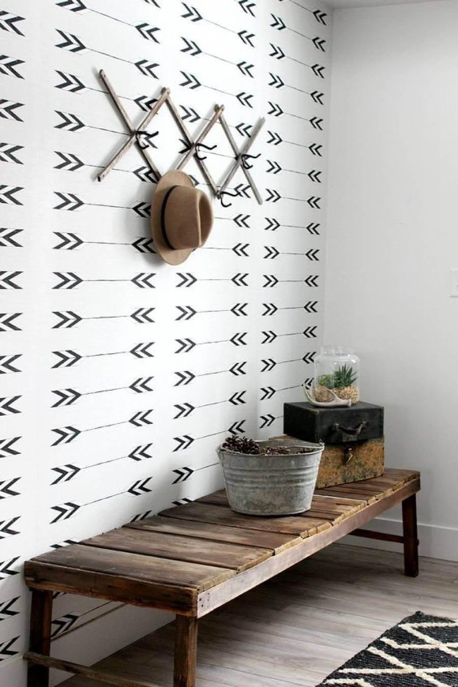 25 ý tưởng trang trí lối ra vào để không gian nhà ở của bạn thêm sống động, ấm áp - Ảnh 2