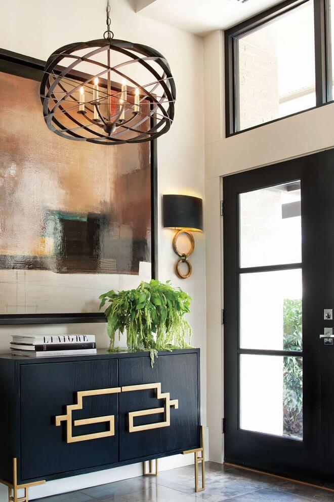 25 ý tưởng trang trí lối ra vào để không gian nhà ở của bạn thêm sống động, ấm áp - Ảnh 22