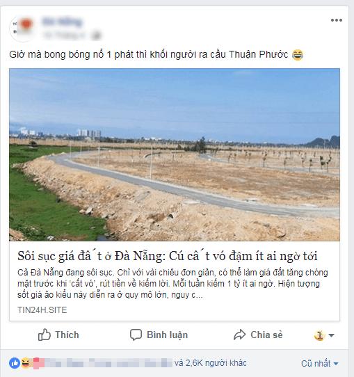 Thực hư chuyện bất động sản Đà Nẵng 'vỡ bóng', tin đồn nhảm chỉ để dọa con nít