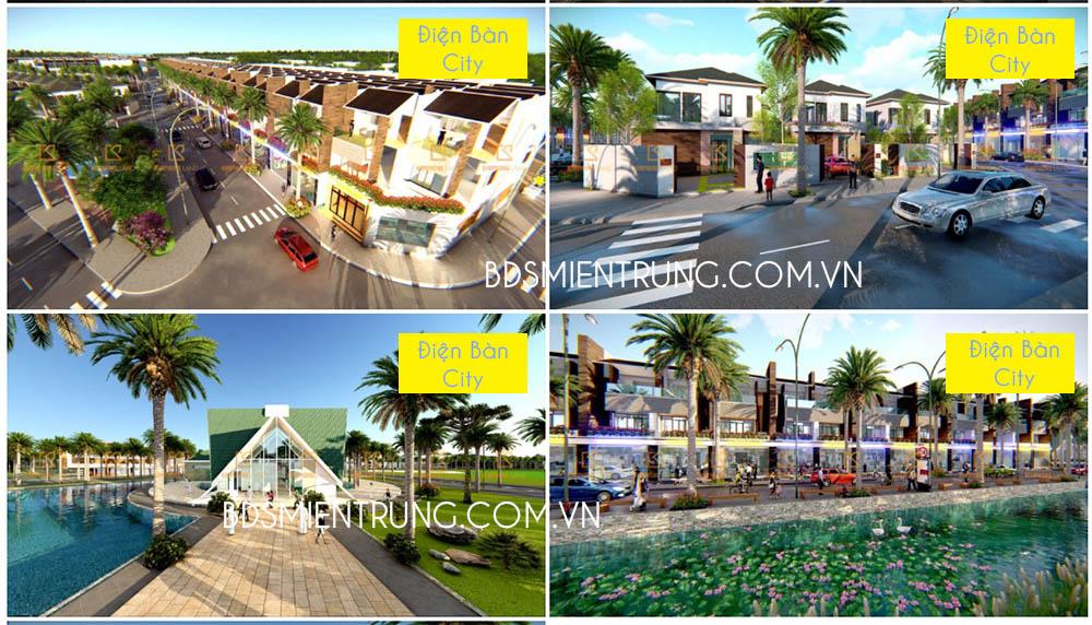 Dự án Điện Bàn City – sát trạm thu phí, chưa đầy 5 phút di chuyển vào Đà Nẵng