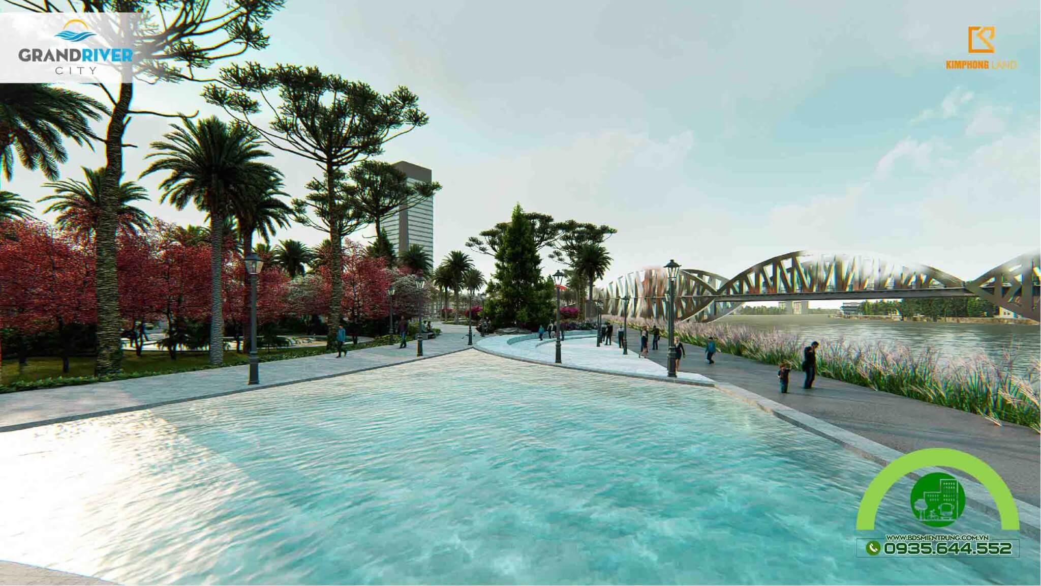 Phối cảnh dự án Grand River City - Ảnh 2
