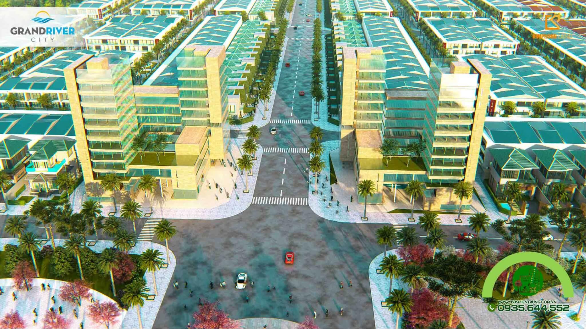 Phối cảnh dự án Grand River City - Ảnh 6