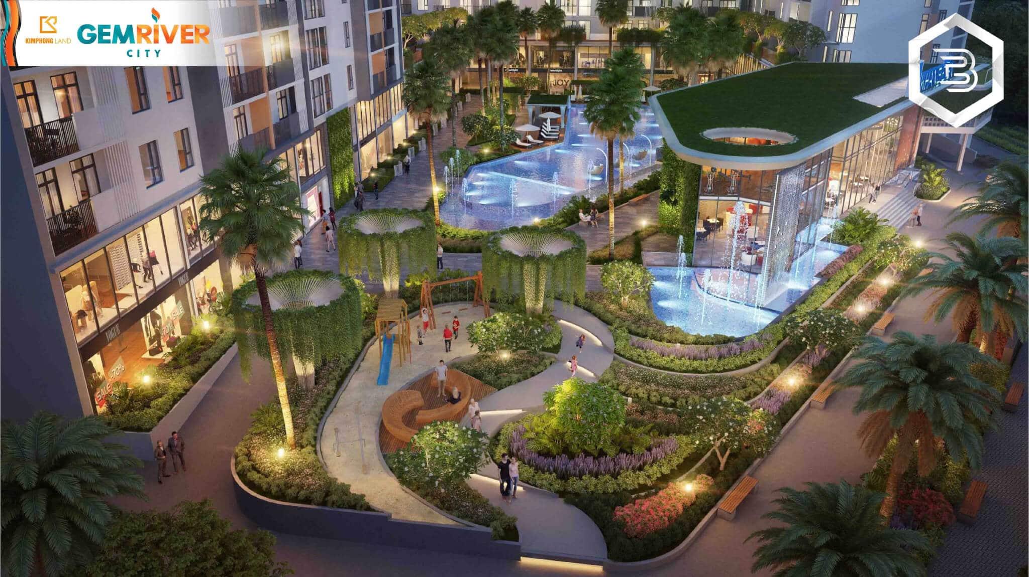 Phối cảnh dự án khu đô thị Gem River City - Ảnh 5