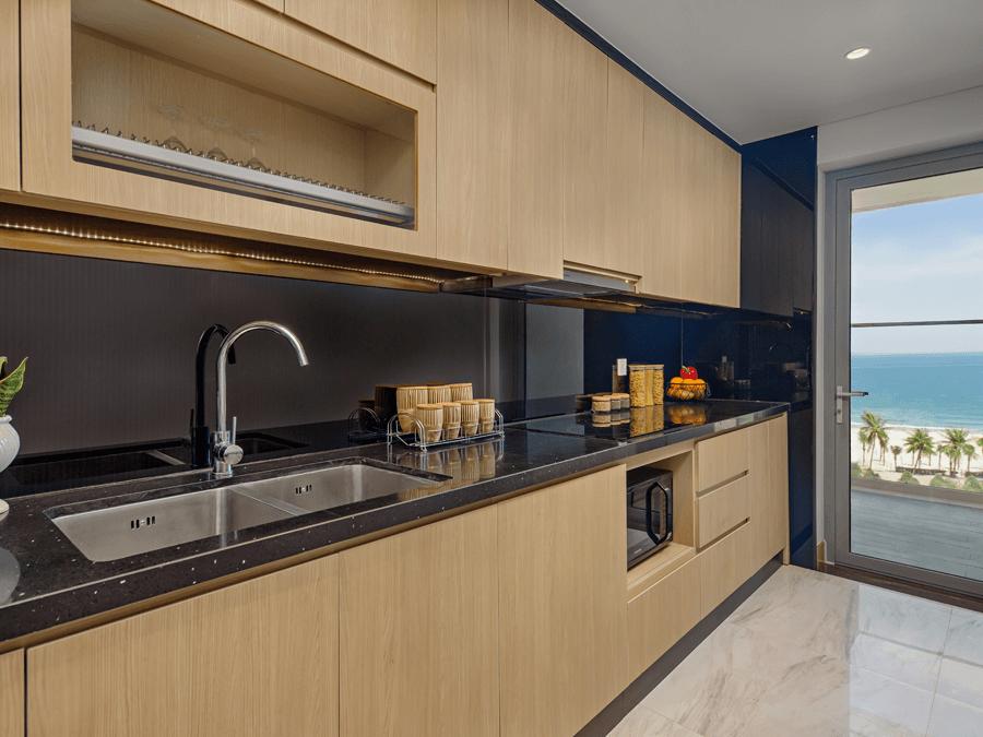 Hình ảnh thực tế căn hộ mẫu tòa Nimbus dự án Wyndham Soleil Đà Nẵng - Ảnh 2