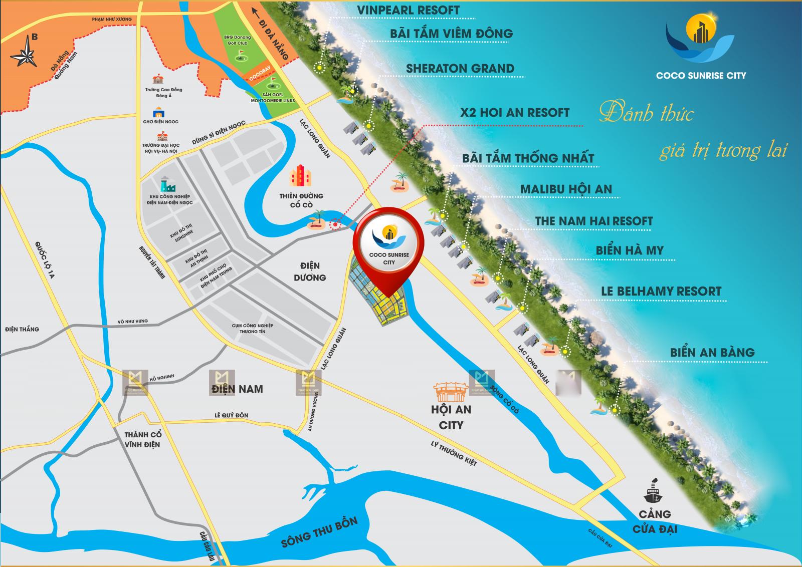Dự án khu đô thị Coco Sunrise City - Ảnh 1 (2)