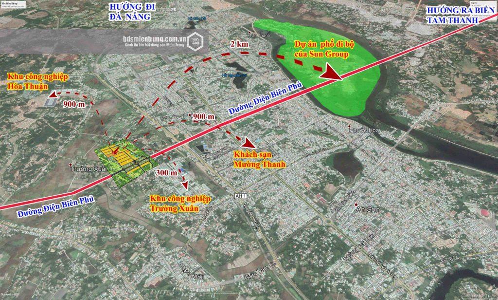 Lô O15-21 và O15-26 khu Trường Xuân, ngay TTTP Tam Kỳ, sổ đỏ sang tay - Ảnh 4