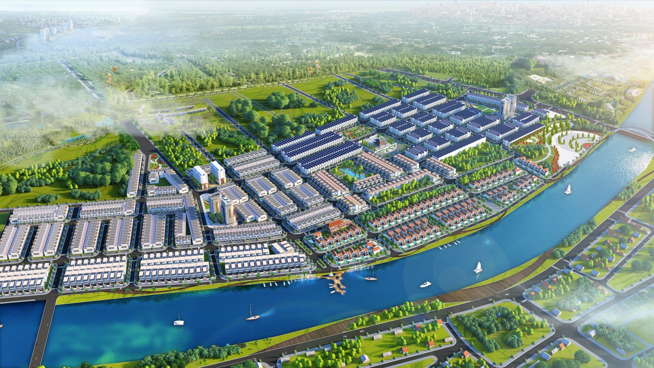 Phối cảnh dự án Rosa Riverside Complex Quảng Nam 2