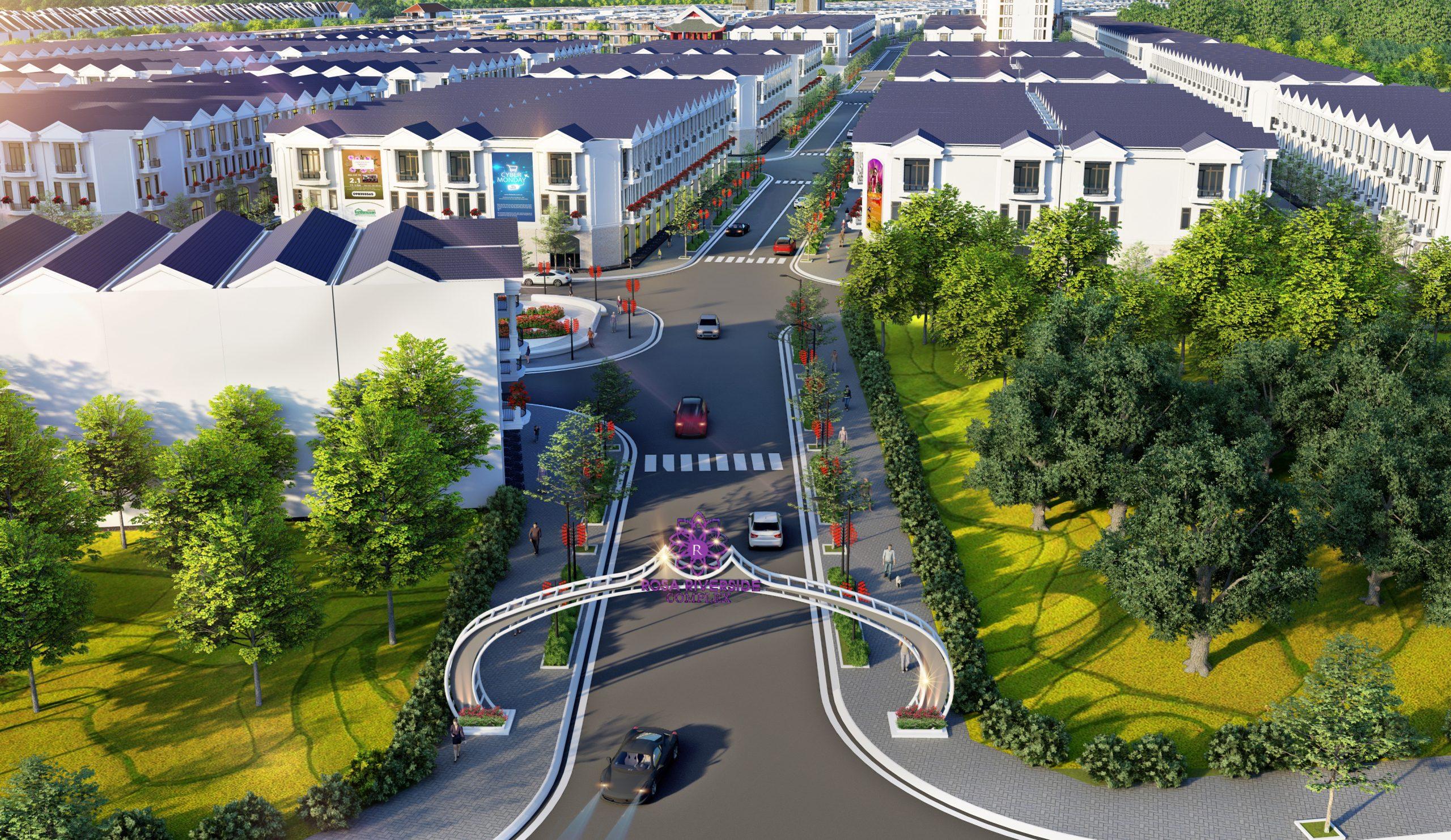 Phối cảnh dự án Rosa Riverside Complex Quảng Nam 3