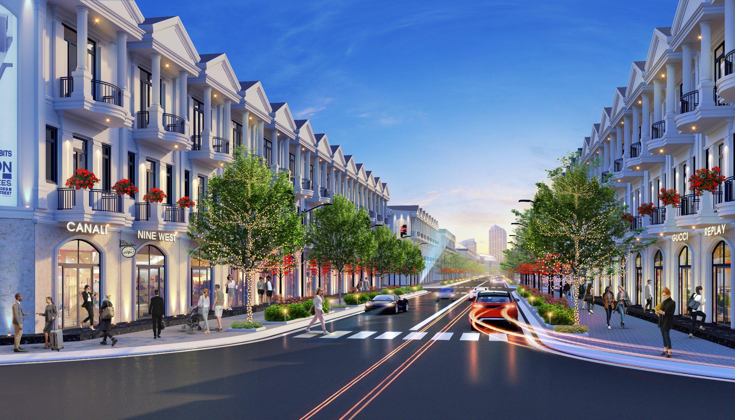 Phối cảnh dự án Rosa Riverside Complex Quảng Nam 4