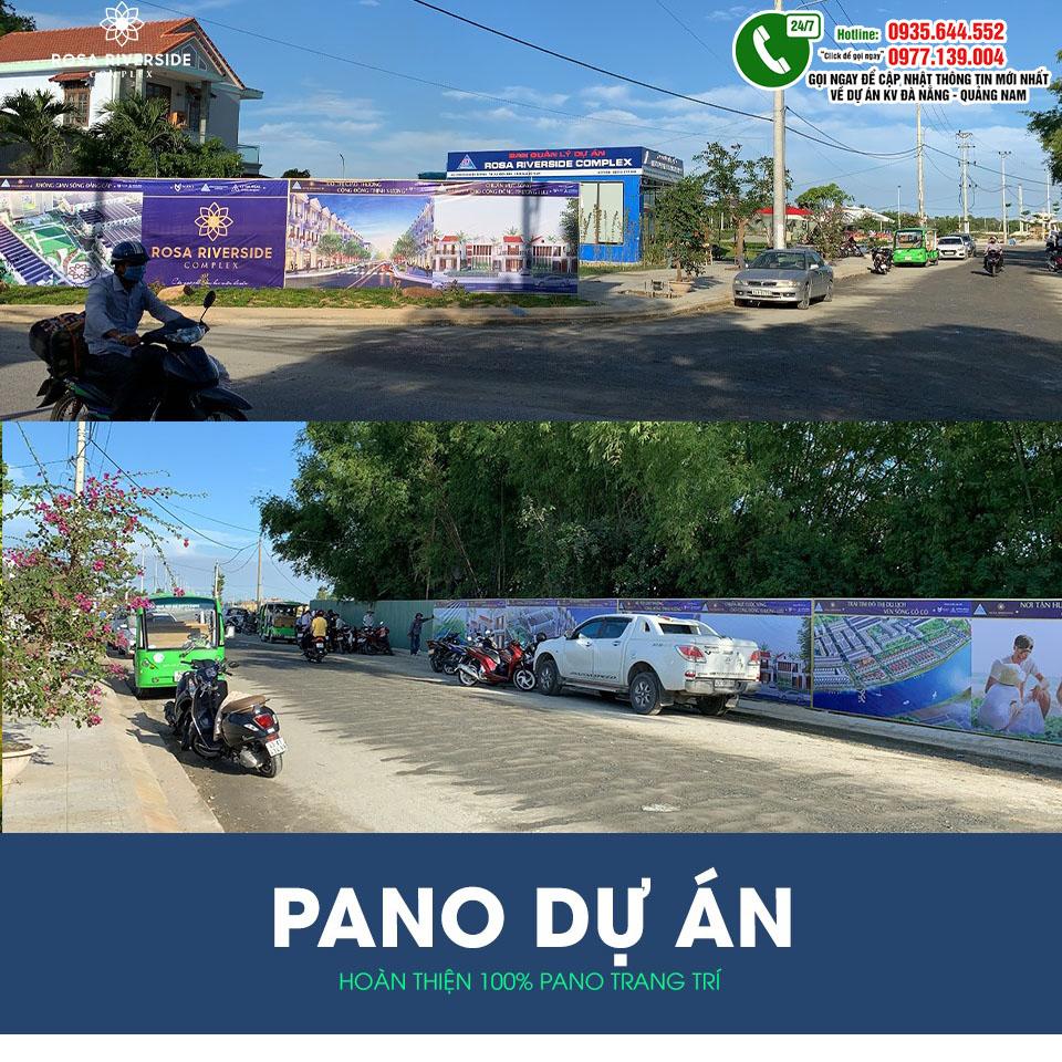 Hình ảnh thực tế khu đô thị Rosa Riverside Complex 2