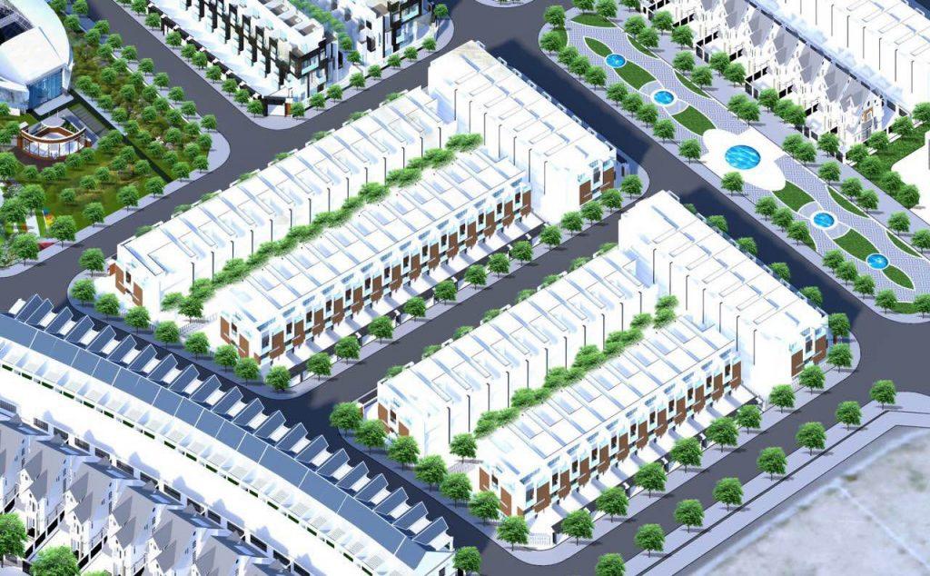 Phối cảnh dự án block dự án khu dân cư Hà Quảng
