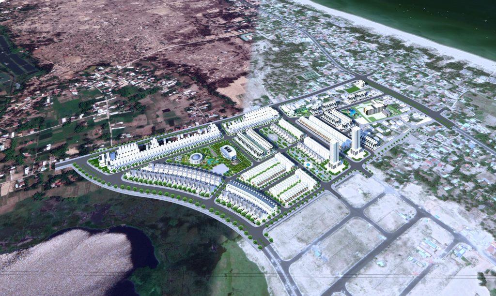 Phối cảnh dự án khu dân cư Hà Quảng