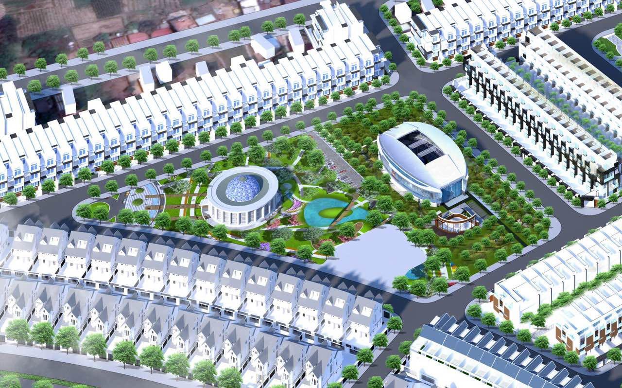 Tiện ích nội khu dự án khu dân cư Hà Quảng