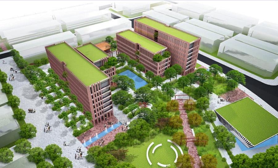 tiện ích nội khu dự án Tân An